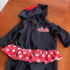 Baby Mini Mouse Footie
